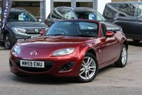 USED 2010 59 MAZDA MX-5 1.8 I SE 2d 125 BHP 2DR CONVERTIBLE * FULL SERVICE HISTORY * AUGUST 2020 MOT TEST *