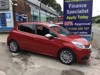 USED 2016 16 PEUGEOT 208 1.2 PURETECH S/S ALLURE 5d 110 BHP, One Owner, Only 11000 miles *** ONE OWNER FROM NEW ***