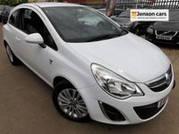 2013 VAUXHALL CORSA 1.2 ENERGY AC 3d 83 BHP 1 OWNER + FULL SERVICE HISTORY £4690.00