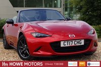 USED 2017 MAZDA MX-5 1.5 SPORT NAV 2d 130 BHP NAVIGATION BOSE SURROUND SOUND FULL HEATED LEATHER BLUETOOTH PHONE & MEDIA
