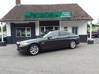 2012 BMW 5 SERIES 2.0 520D EFFICIENTDYNAMICS 4d 181 BHP £8995.00