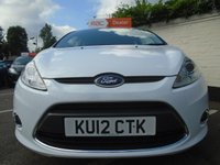 USED 2012 12 FORD FIESTA 1.2 ZETEC 3d 81 BHP GUARANTEED TO BEAT ANY 'WE BUY ANY CAR' VALUATION ON YOUR PART EXCHANGE