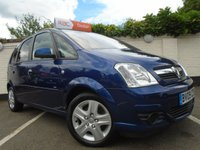 2009 VAUXHALL MERIVA 1.4 ACTIVE 16V TWINPORT 5d 90 BHP £SOLD