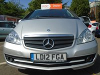 USED 2012 12 MERCEDES-BENZ A CLASS 1.5 A160 BLUEEFFICIENCY CLASSIC SE 5d 95 BHP GUARANTEED TO BEAT ANY 'WE BUY ANY CAR' VALUATION ON YOUR PART EXCHANGE