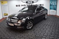 USED 2013 63 MERCEDES-BENZ C CLASS 2.1 C220 CDI SE (Executive) 7G-Tronic Plus 2dr Megga Spec, PanRoof, Leather