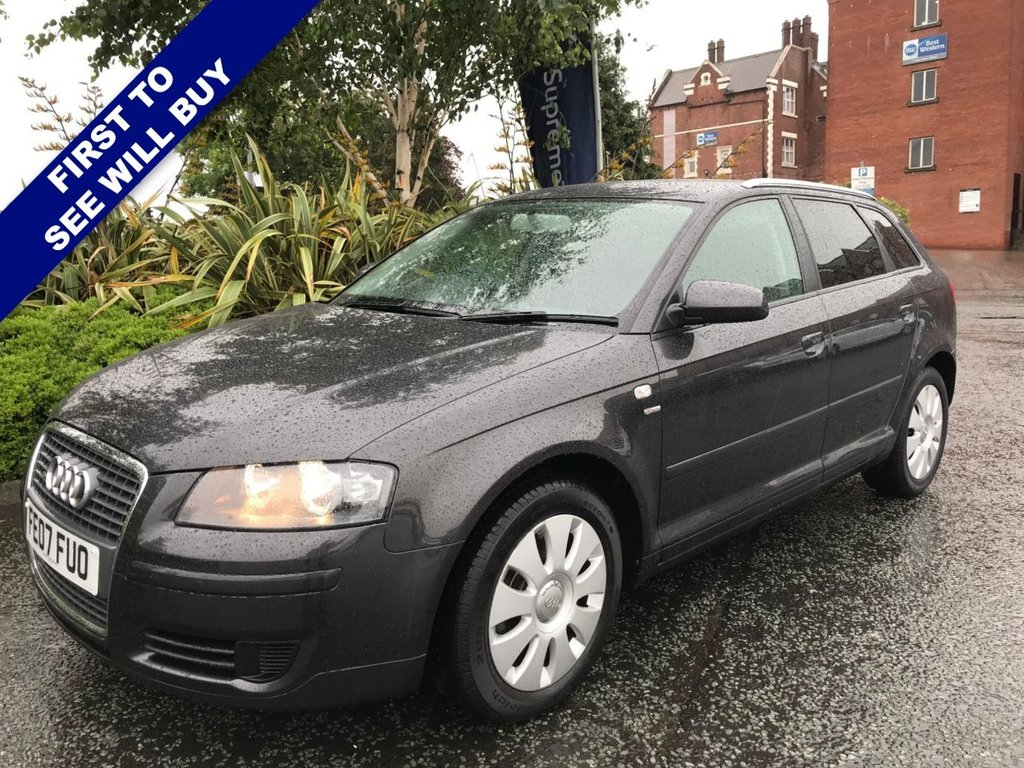 USED 2007 07 AUDI A3 1.6 SPECIAL EDITION 8V 5d 101 BHP Looks and Drives Great
