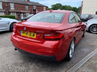 USED 2014 14 BMW 2 SERIES 2.0 218d M Sport (s/s) 2dr BMW SERVICE HISTORY