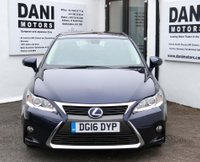 USED 2016 16 LEXUS CT 1.8 SE E-CVT 5dr *1 OWNER*BLUETOOTH**