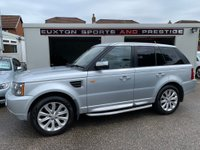 USED 2007 07 LAND ROVER RANGE ROVER SPORT 2.7 TD V6 HSE 5dr FULL SERVICE HISTORY