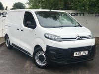 USED 2017 17 CITROEN DISPATCH 1000 1.6 HDI 115 BHP ENTERPRISE BLUE**85 VANS IN STOCK**