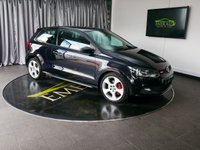 USED 2011 61 VOLKSWAGEN POLO 1.4 GTI DSG 3d AUTO 177 BHP £0 DEPOSIT FINANCE AVAILABLE, AIR CONDITIONING, AUX INPUT, BLUETOOTH CONNECTIVITY, CLIMATE CONTROL, DAYTIME RUNNING LIGHTS, GEARSHIFT PADDLES, HEATED DOOR MIRRORS, STEERING WHEEL CONTROLS, TOUCH SCREEN HEAD UNIT, TRIP COMPUTER
