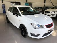 2016 SEAT IBIZA 1.2 TSI FR RED EDITION TECHNOLOGY 3d 109 BHP £9295.00