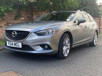 2014 MAZDA 6 2.2 D SPORT NAV 5d 148 BHP £8000.00