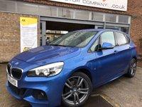 2015 BMW 2 SERIES 2.0 218D M SPORT ACTIVE TOURER 5d AUTO 148 BHP £SOLD