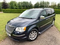 2010 CHRYSLER GRAND VOYAGER 2.8 CRD LIMITED 5d AUTO 161 BHP Full Service History MINT Example  £6295.00