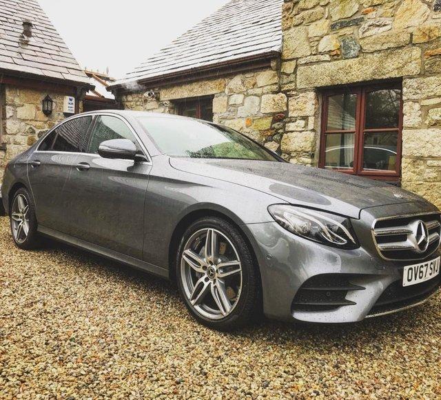 2017 Mercedes-Benz E Class E 220 D Amg Line £23,999