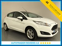 USED 2016 FORD FIESTA 1.25 82 Zetec 5dr FULL HISTORY - AIR CON - BLUETOOTH - DAB RADIO - 15' ALLOYS - CD PLAYER - HEATED FRONT SCREEN