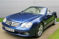 USED 2007 57 MERCEDES-BENZ SL 3.5 SL350 2d AUTO 272 BHP NEW MOT, TAX* PX&FINANCE WELCOME. UK DELIVERY POSSIBLE