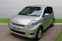 2008 DAIHATSU SIRION 1.3 SE 5d AUTO 85 BHP £3950.00
