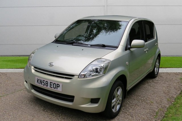 USED 2008 58 DAIHATSU SIRION 1.3 SE 5d AUTO 85 BHP NEW MOT, TAX* PX/&FINANCE WELCOME. UK DELIVERY POSSIBLE. HD VIDEO