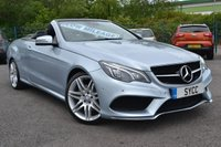 USED 2016 16 MERCEDES-BENZ E CLASS 3.0 E 350 D AMG LINE EDITION PREMIUM 2d AUTO 255 BHP SAT NAV ~ REVERSE CAMERA ~ PARK ASSIST ~ APPLE CAR PLAY ~ HEATED LEATHER