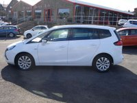 USED 2014 64 VAUXHALL ZAFIRA TOURER 1.4 TECH LINE 5d 138 BHP LOW MILEAGE SEVEN SEATER