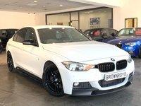USED 2013 63 BMW 3 SERIES 3.0 330D M SPORT 4d AUTO 255 BHP ++M PERFORM STYLING+SAT NAV++