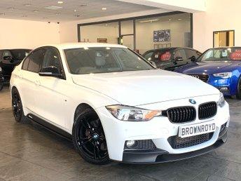 2013 BMW 3 SERIES 3.0 330D M SPORT 4d AUTO 255 BHP £14490.00