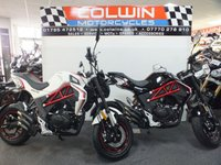 USED 2019 69 SINNIS Akuma 125cc BRAND NEW & IN STOCK NOW!!!