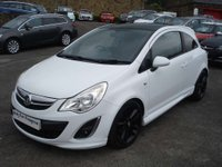 USED 2012 12 VAUXHALL CORSA 1.2 LIMITED EDITION CDTI ECOFLEX 3d 73 BHP ROAD TAX ONLY £20 A YEAR