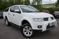 USED 2011 61 MITSUBISHI L200 2.5 DI-D 4X4 BARBARIAN LB DCB 5d AUTO 175 BHP ~ ONLY 35,000 MILES 1 OWNER ~ GENUINE 35,000 MILES ~ ROLLER SHUTTER BACK ~ CHROME REAR BARS