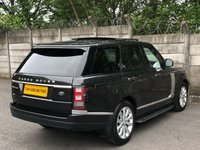 USED 2013 63 LAND ROVER RANGE ROVER 3.0 TDV6 VOGUE SE 5d AUTO 258 BHP 1 OWNER CAR/FULL LANDCOVER HISTORY/LOW MILES