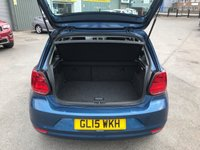 USED 2015 15 VOLKSWAGEN POLO 1.0 SE 5d 74 BHP IN METALLIC BLUE WITH A FULL SERVICE HISTORY AND 95,000 MILES APPROVED CARS AND FINANCE ARE PLEASED TO OFFER THIS VOLKSWAGEN POLO 1.0 SE 5 DOOR 74 BHP IN METALLIC BLUE WITH A FULL SERVICE HISTORY AT 1K, 22K, 33K, 48K, 65K, 81K AND 94K WITH 95,000 MILES ON THE CLOCK. THIS VEHICLE HAS GOT A GREAT SPEC SUCH AS BLUETOOTH, AIR CON, ALLOYS, ELECTRIC WINDOWS AND ELECTRIC MIRRORS. THIS IS A PERFECT FIRST TIME NEW DRIVER VEHICLE DUE TO THE LOW INSURANCE BRACKET AND AND LOW TAX BAND. FOR FURTHER INFORMATION PLEASE CALL ON 01622871555.