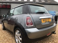 USED 2010 10 MINI HATCH COOPER 1.6 COOPER GRAPHITE 3d 118 BHP 2 OWNERS FROM NEW: