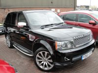 2010 LAND ROVER RANGE ROVER SPORT 3.6 TDV8 SPORT HSE 5d AUTO 269 BHP £12480.00