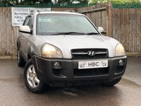 USED 2005 HYUNDAI TUCSON 2.0 CDX CRTD 4WD 5d 111 BHP EXCELLENT VALUE