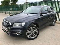 2013 AUDI Q5 2.0 TDI QUATTRO S LINE PLUS S/S 5d 175 BHP ALLOYS SATNAV LEATHER CRUISE A/C MOT 04/20 £10990.00