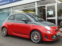 USED 2015 64 ABARTH 595C 1.4 T-JET  TURISMO  CONVERTIBLE  2dr (158bhp) ...FULL SERVICE HISTORY. FULL LEATHER. SPORT ALLOYS. ALL TURISMO REFINEMENTS. IMMACULATE.