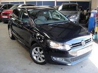 USED 2013 13 VOLKSWAGEN POLO 1.2 MATCH 5d 59 BHP ANY PART EXCHANGE WELCOME, COUNTRY WIDE DELIVERY ARRANGED, HUGE SPEC