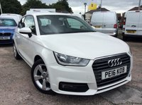 USED 2016 16 AUDI A1 1.0 TFSI SPORT 3d 93 BHP 1 OWNER FSH NEW MOT  FREE 6 MONTH AA WARRANTY INCLUDING RECOVERY AND ASSIST NEW MOT BLUETOOTH ELECTRIC WINDOWS AND MIRRORS AIR CONDITIONING SPARE KEY ZERO ROAD TAX