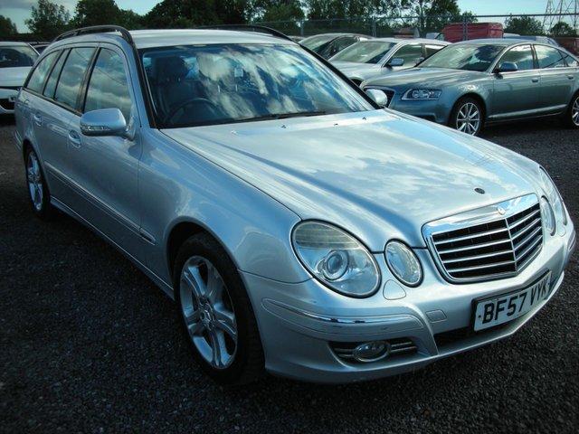 2007 57 MERCEDES-BENZ E CLASS 3.0 E280 CDI AVANTGARDE 5d AUTO 187 BHP
