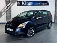 USED 2010 10 PEUGEOT 5008 1.6 ACTIVE 5dr MPV 7 SEATS, PARK ASSIST, GREAT VALUE! NEW MOT & SERVICE, 2 KEYS