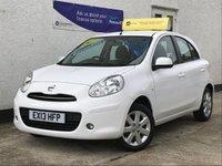 2013 NISSAN MICRA 1.2 ACENTA 5d AUTO 79 BHP £6495.00