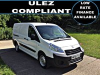 USED 2016 66 PEUGEOT EXPERT 1.6 HDI 1200 L2H1 1d 90 BHP This vehicle meets the emission standards for ULEZ