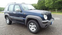 USED 2004 54 JEEP CHEROKEE 2.5 SPORT CRD 5d 141 BHP AIR-CONDITIONING, CENTRAL LOCKING, CD-PLAYER, ELECTRIC WINDOWS, METALLIC PAINT, ELECTRIC MIRRORS, SUPERB EXAMPLE,