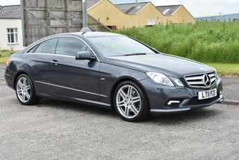 2011 MERCEDES-BENZ E CLASS 2.1 E220 CDI BLUEEFFICIENCY SPORT 2d AUTO 170 BHP £10990.00
