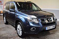 USED 2013 63 NISSAN X-TRAIL 2.0 TEKNA DCI 5d 171 BHP Huge spec, rare example! 2013 Nissan X Trail 2.0dCi Tekna with 91k miles, 1 owner from new & FSH! Sat Nav, Leather, Bluetooth! Finance available, PX welcome!