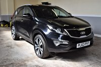 USED 2013 63 KIA SPORTAGE 1.7 CRDI 3 5d 114 BHP 2013 Kia Sportage 1.7CRDI 3 with 65k miles! Spec includes full leather, pan roof, heated front & rear seats! PX Welcome, Finance available!