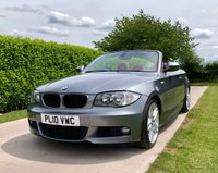 USED 2010 10 BMW 1 SERIES 2.0 120I M SPORT CABRIOLET, JUST HAD £1400 SERVICE, LOVELY CAR