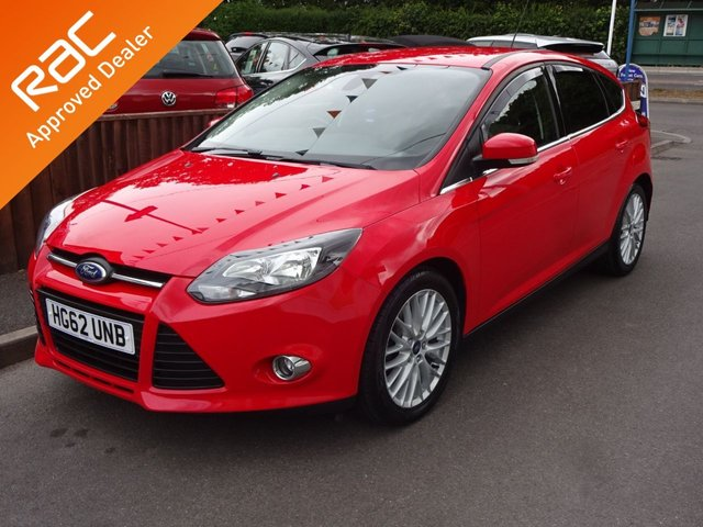USED 2012 62 FORD FOCUS 1.0 SCTi EcoBoost Zetec 5Door *Low Road Tax* *ALLOYS*DAB*BLUETOOTH*REAR PRIVACY GLASS*